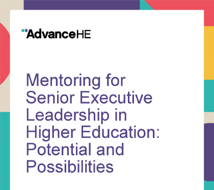 executive leadership mentoring report cover