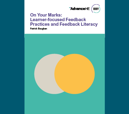 On Your Marks: learner focused feedback cover
