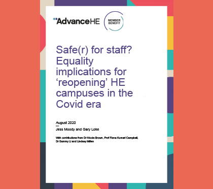 Cover of Safe(r) for staff report