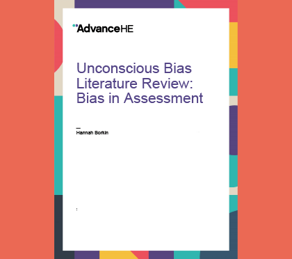 Unconscious Bias Literature Review Bias In Assessment Advance He Epcs may choose to use the terms assessment of risk of bias or quality assessment. epcs should define clearly the term used in their systematic review (sr) and comparative effectiveness review. unconscious bias literature review