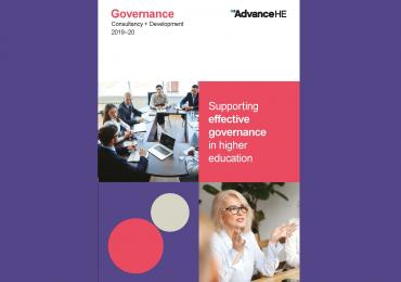 Governance brochure front cover