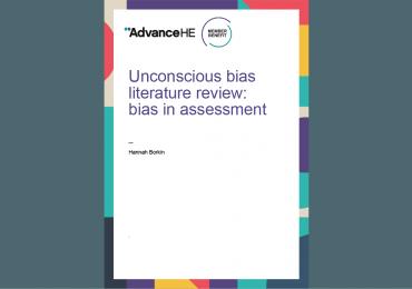 Unconscious bias literature review: bias in assessment