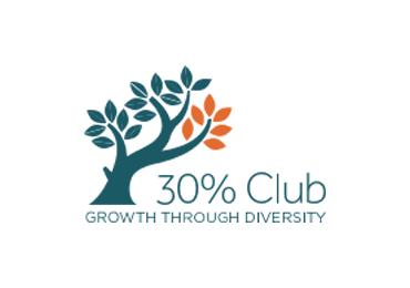 30 percent club logo