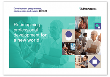 Advance HE Programmes and Events 2021-22brochure