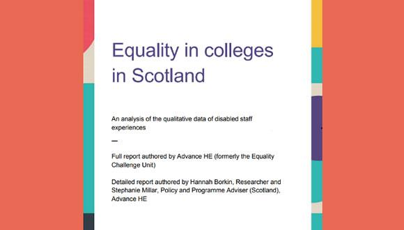 Equality-in-colleges-in-Scotland-report