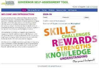 Governor self-assessment toolkit