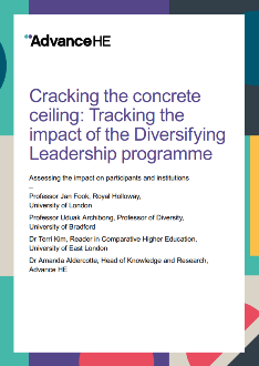 Diversifying Leadership - Cracking the Concrete Ceiling