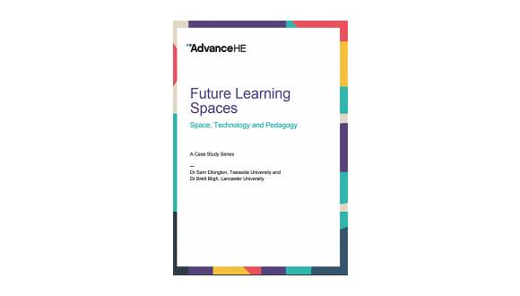 Advance HE Future Learning Spaces Report Cover