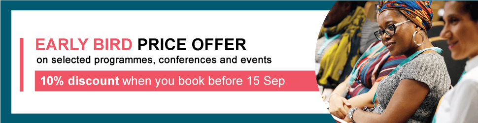 Early Bird offer on Advance HE Programmes and Events