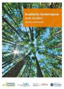 Academic Governance - Case Studies