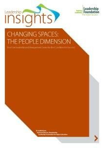 Changing spaces: the people dimension