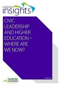 Civic Leadership and HE