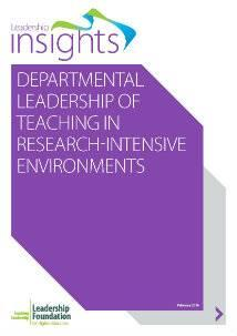 Departmental Leadership