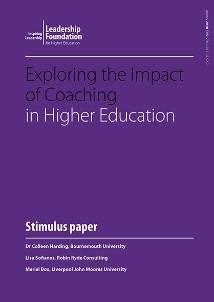 Exploring the Impact of Coaching in Higher Education