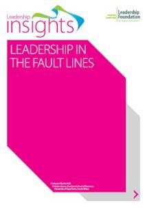 Leadership in the Fault Lines