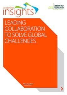Leading Collaboration to Solve Global Challenges