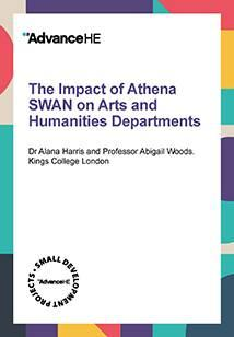 The impact of Athena SWAN on Humanities Departments