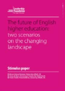 The future of English higher education
