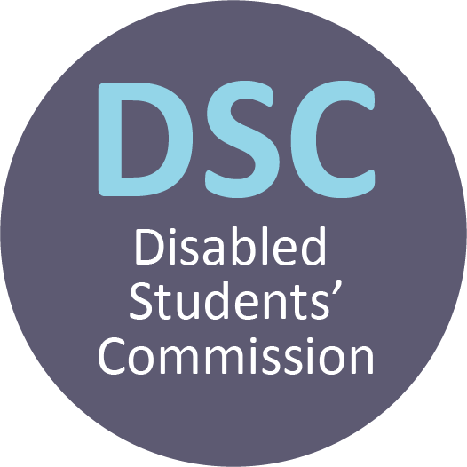 Disabled Students Commission logo