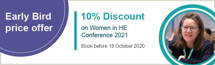 Women in HE Conference - Early Bird offer