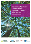 Reviewing Academic Governance in higher education framework