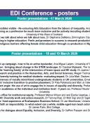 EDI Programme - Posters