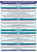 Surveys & Insights Conference programme