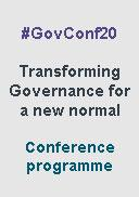 Governance Conference 2020 - programme download