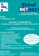 NET2021 Conference Flyer