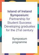 Island of Ireland Symposium Programme